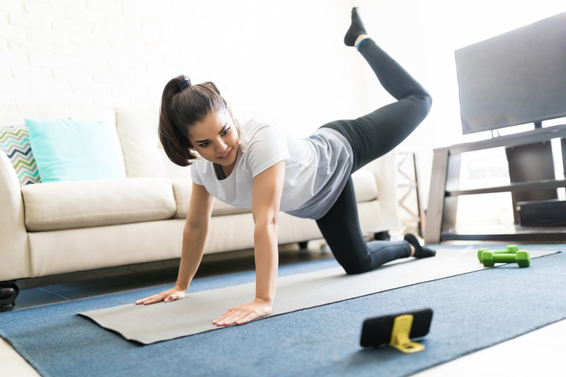 Tune in online to a different exercise class each day with a Vital Core Physio